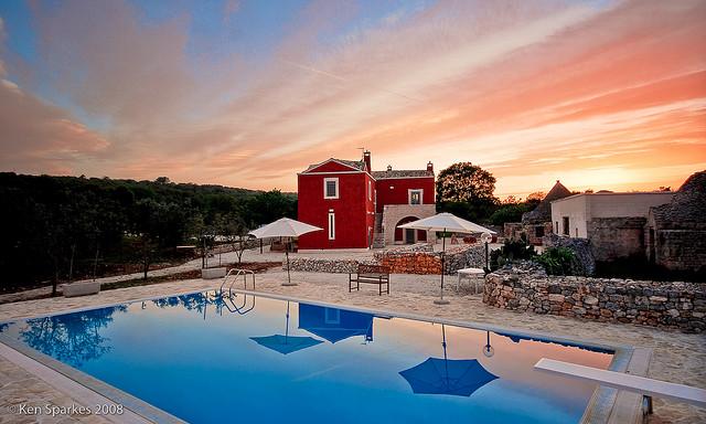 An Italian villa in Puglia